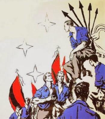 Venezuela / Camisas Pardas, Negras, Azules y Rojas