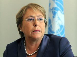 The head of the United Nations Women, Mi