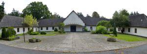 Vista de Villa Bogensee, residencia del ministro de propaganda de Hitler, Joseph Goebbels, cerca de Berlín. / PATRICK PLEU (EFE)