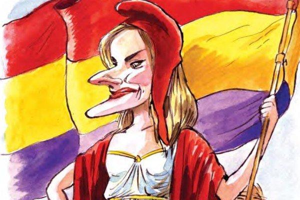 """¿Podría ser recordada la Reina Letizia con el sobrenombre de 'la Reina Roja'? Letizia podría ser recordada como """"la Reina Roja"""" por su pasado progresista, su interés por los líderes de izquierda y su extraña relación con los símbolos institucionales y los asuntos militares."""